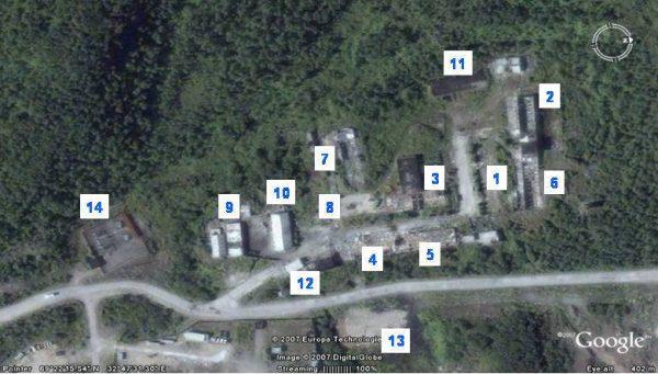 Расположение нашей части (11767-12625)