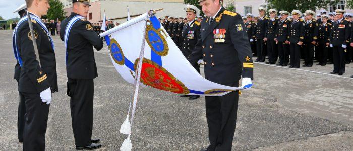 7 дивизии вручено Боевое знамя нового образца (2014 год)