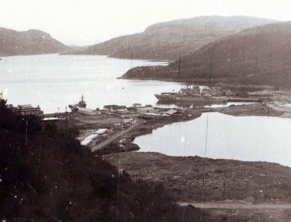 Расположение 130 бригады противолодочных кораблей, Ара-Губа, 80-е годы