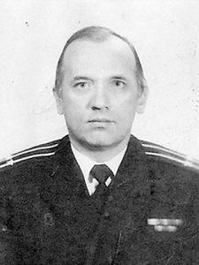 Бывший флагманский штурман 130 бпк Иванов Александр Викторович