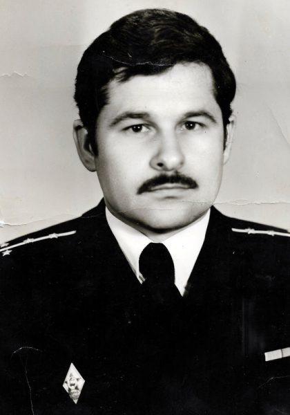 Бывший флагманский специалист РТС Сапожников Николай Алексеевич