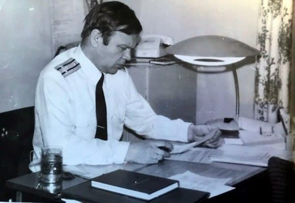Александр Чукалкин, бывший флагмин 130 бпк