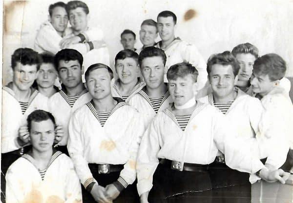 Первый курс училища, 1963 года
