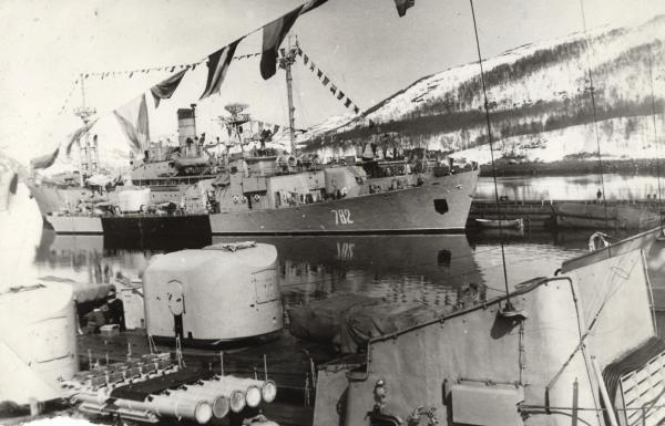 Весна в Ара-Губе, корабли 130 бригады противолодочных кораблей