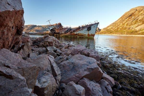 Ара-Губа, бухта Сковорода, май 2015 года (фотограф Владимир Букаев)