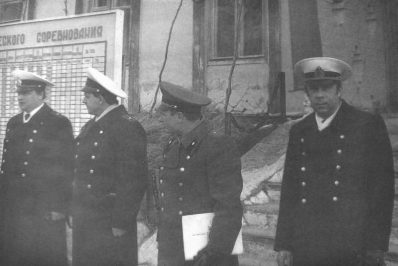 Майоры Добрынин Н. В., Степаненко В. А., Козлов Г. Н., Черкашин А. В., октябрь 1987 года