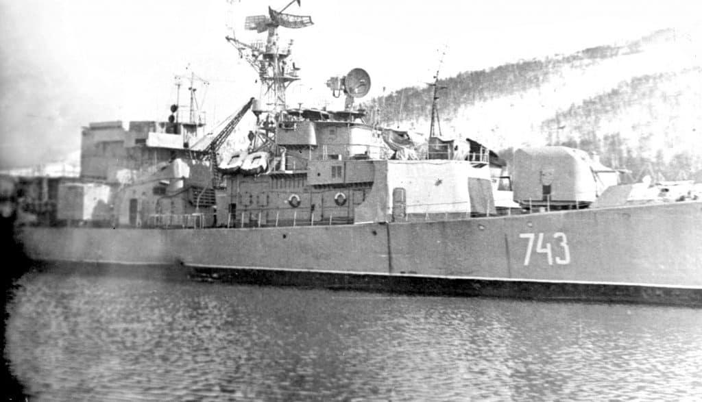 СКР проекта 159А в Ара-Губе