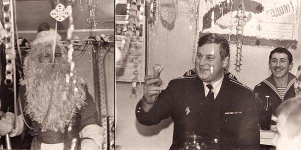 Новый 1985-й год на СКР «Ленинградский комсомолец»
