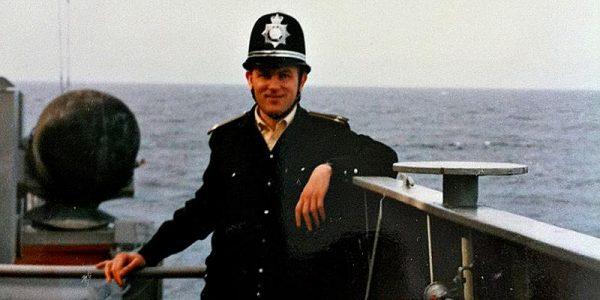 Павел Вишняков после захода в Великобританию, 1990-е годы