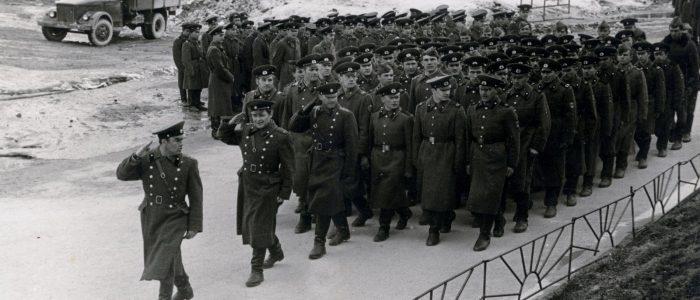 Военные строители Северного флота в далёком 1975 году