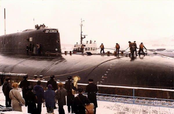 АПРК К-119 «Воронеж», 1996 год