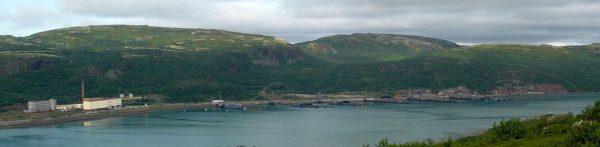 Панорама Ара-Губы, август 2002 года