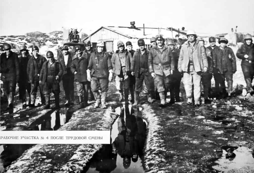Гидроспецстрой: рабочие участка №4 после трудовой смены