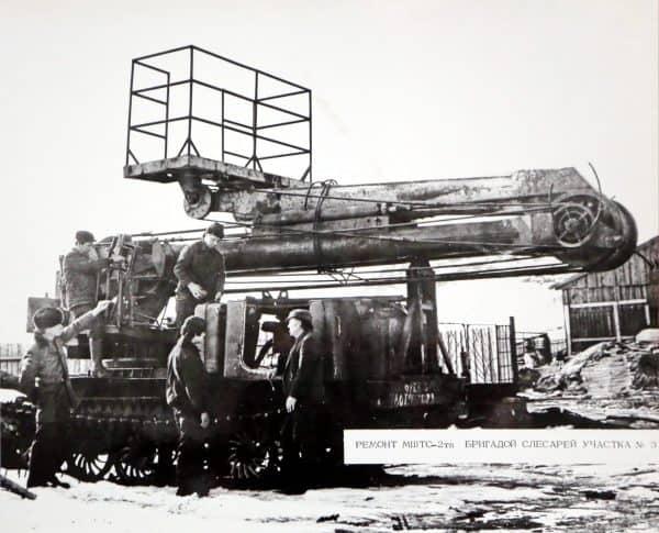Гидроспецстрой: ремонт МШТС-2тп бригадой слесарей участка №3