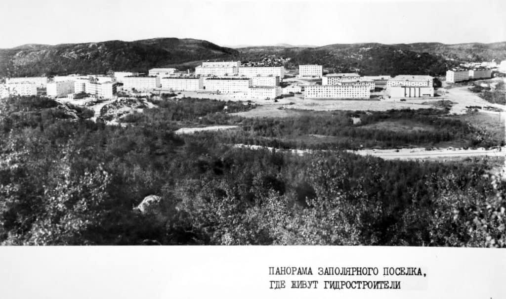 Гидроспецстрой: панорама заполярного посёлка, где живут гидростроители (Видяево)