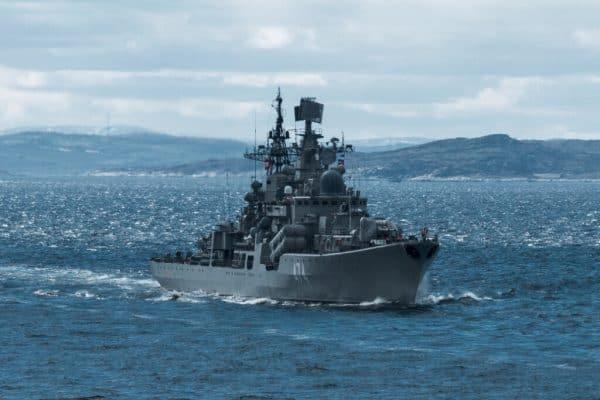 Эскадренный миноносец Северного флота «Адмирал Ушаков»