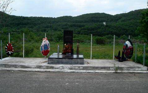 Памятник матросу-разведчику Романову Виктору Кузьмичу