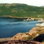 Противолодочные корабли в Ара-Губе (снимок 1990-х годов)