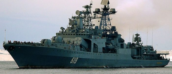 Отряд кораблей Северного флота вышел в дальний поход по Севморпути