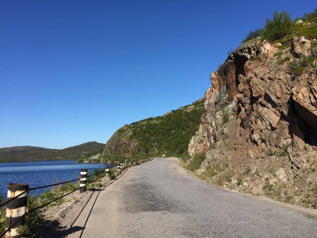 По дороге из Видяево в Ара-Губу