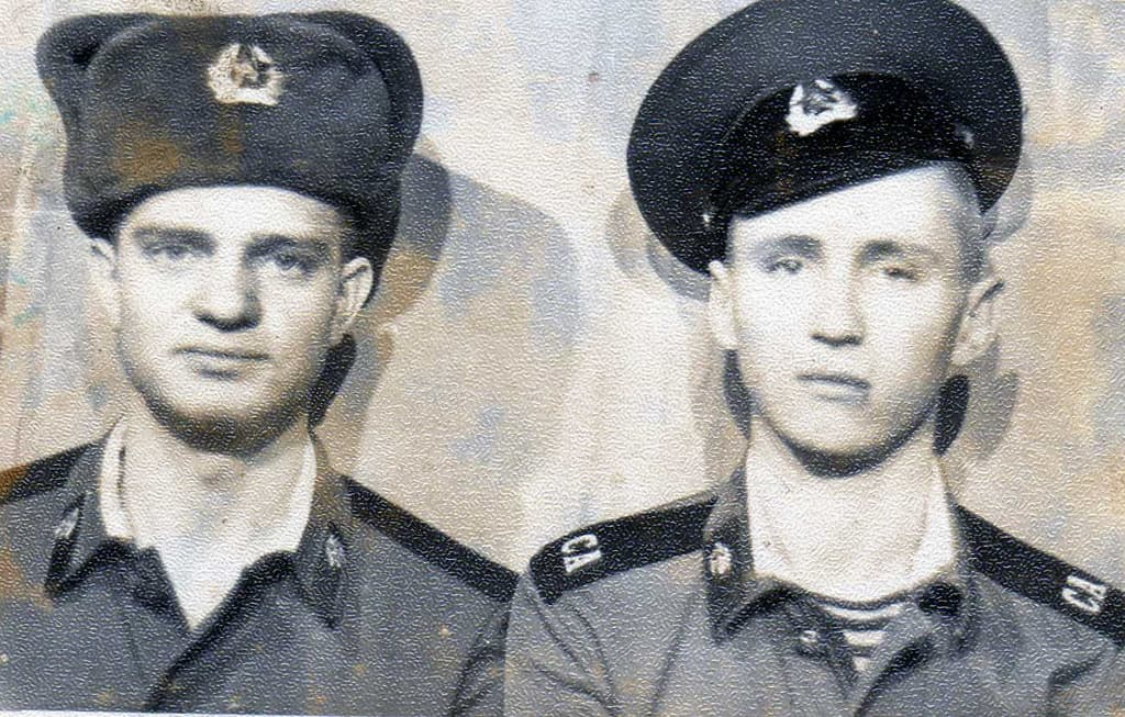 Андрей Швендих и Иван Дерксен