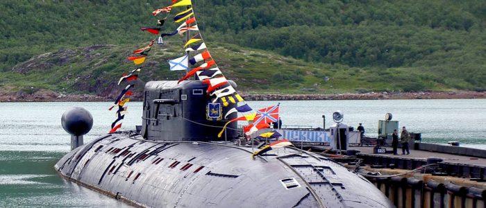 Завершена модернизация атомной подводной лодки «Псков»