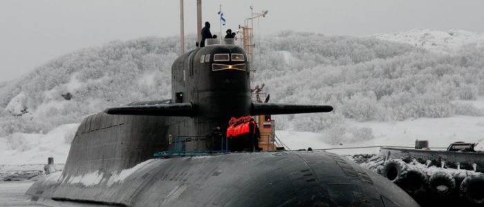 Боевой состав Северного флота пополнился ракетным подводным крейсером «Верхотурье»