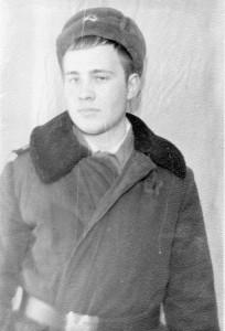 Военный строитель ефрейтор Николай Семёнов, Ара-Губа, 05.01.1978 г.