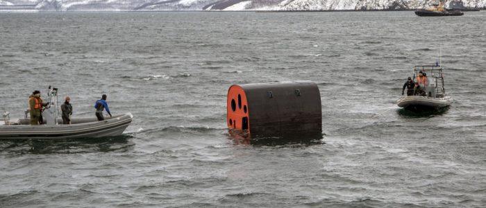 На АПЛ «Северодвинск» испытали всплывающую спасательную капсулу