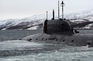 АПЛ К-560 «Северодвинск», Западная Лица, ноябрь 2014 года