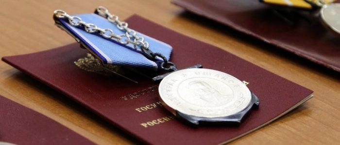 Награды отличившимся офицерам