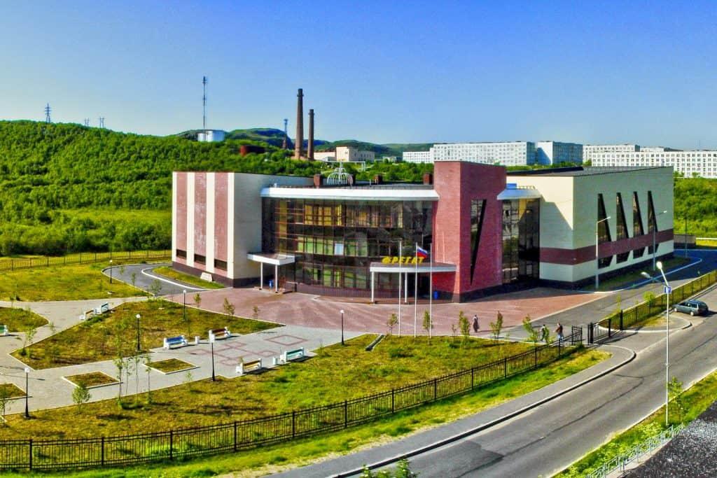 Спортивно-оздоровительынй комплекс «Фрегат» в посёлке Видяево